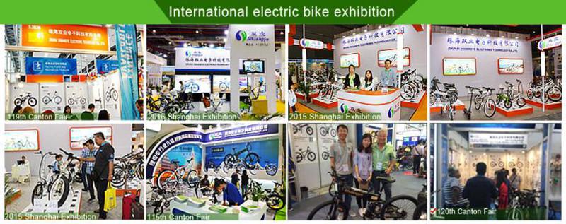 תערוכת אופניים חשמליים
