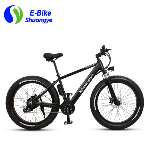 electric fat bike 36V hidden lithium battery