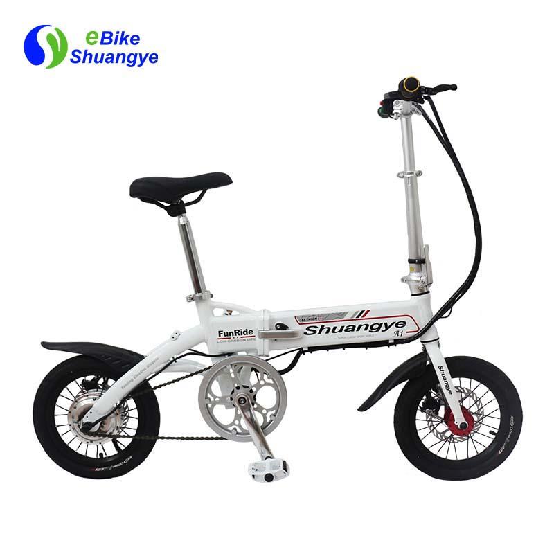 14 inch aluminium frame electric mini bike A1-S
