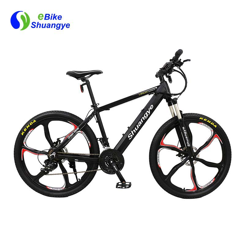 mountain electric bicycle 26 inch magnesium alloy wheels A6AH26M