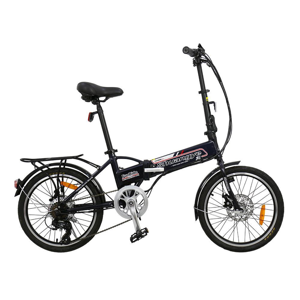 electric folding bike 36v hidden battery A1-7