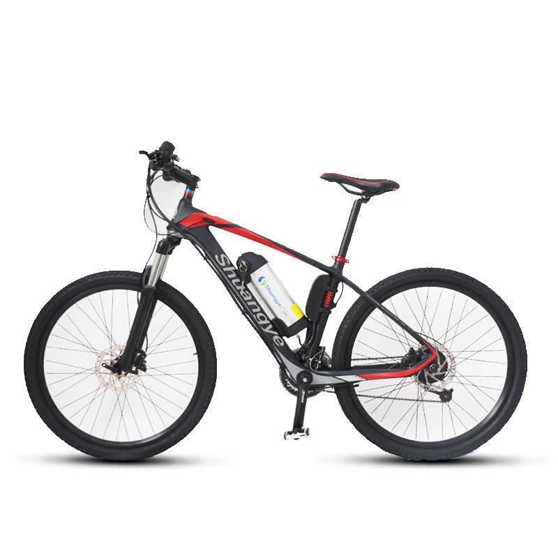 26 Inch Carbon Frame Pedelec Mountainbike Shuangye Ebike