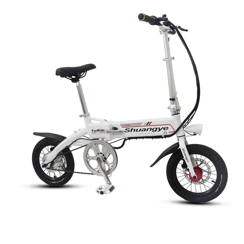 14 Inch Aluminium Frame Electric Mini Bike Frebike