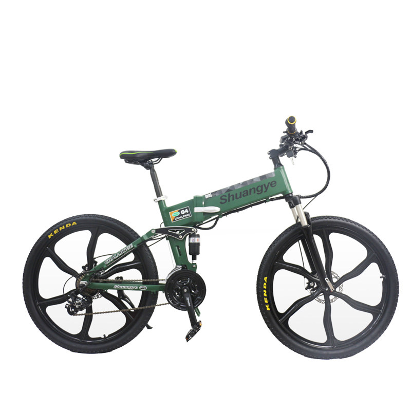 26 inch 36v folding electric mountain bicycle G4M