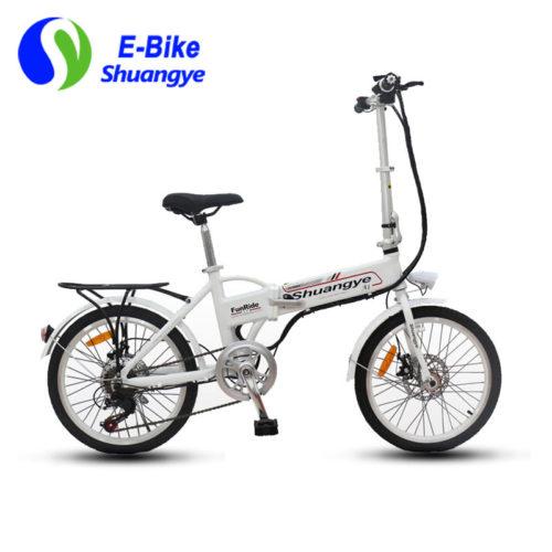 folding electric bike 36v hidden battery