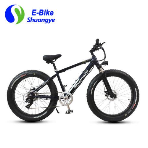 electric fat bike 36V hidden lithium battery