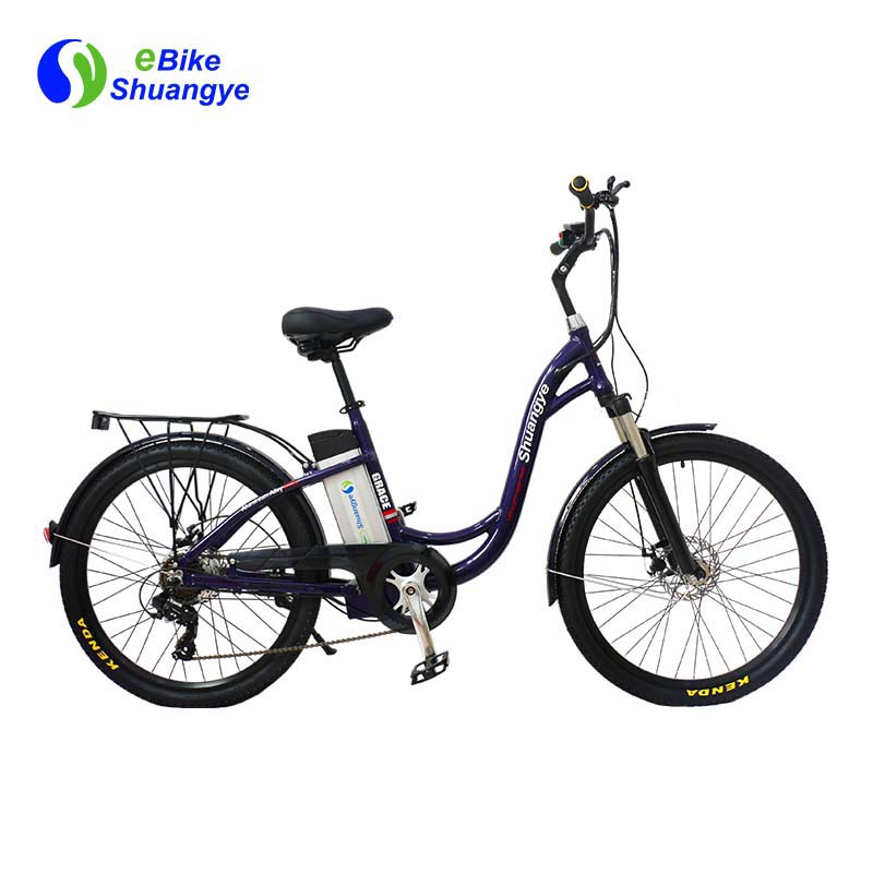 best electric city bicycle 26 inch frame 36v battery A3AL26