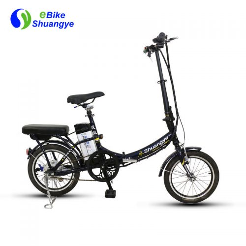 16 inch cheap folding city electric bike with green power A3F16