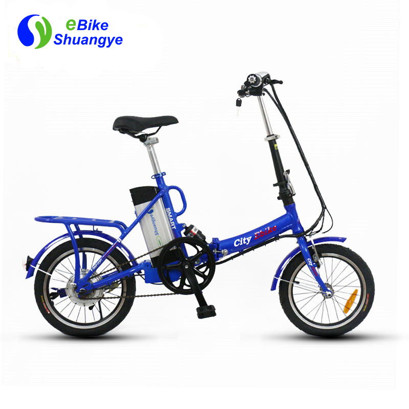 16 inch 36v alloy frame mini folding electric bike A3AL16