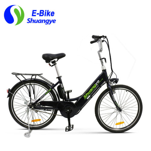 e bike city with 36v 250w brushless motor