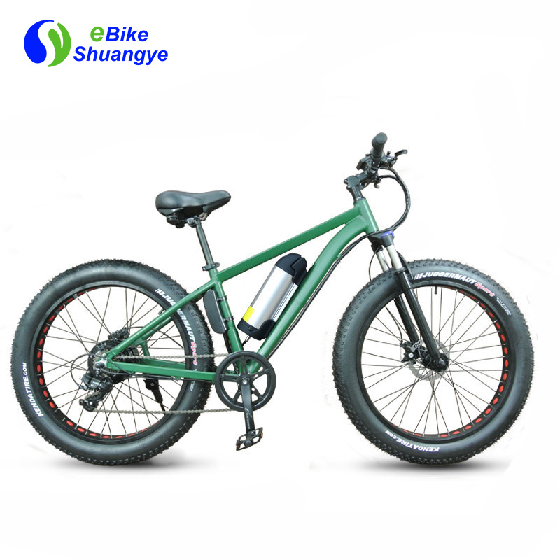 fat tyre electric bicycle 26 inch 36v battery A7AB26