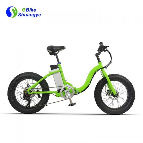 folding fat tire electric bike 20*4.0 inch A7AW20