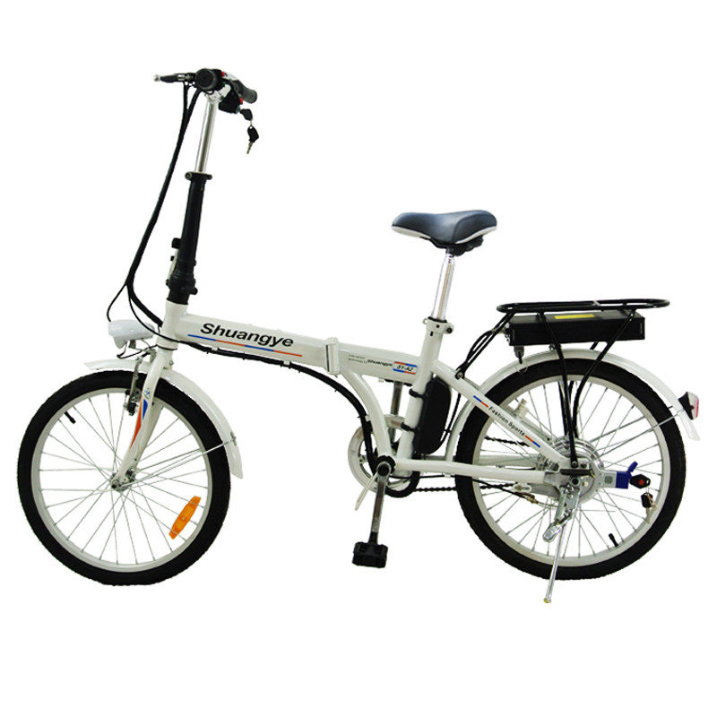 Cheap Electric Bike 20 Inch Folding Frame Shuangye Ebike