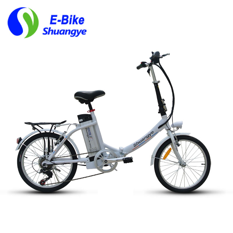 20 inch aluminum alloy city folding electric bike shuangye ebike. Black Bedroom Furniture Sets. Home Design Ideas