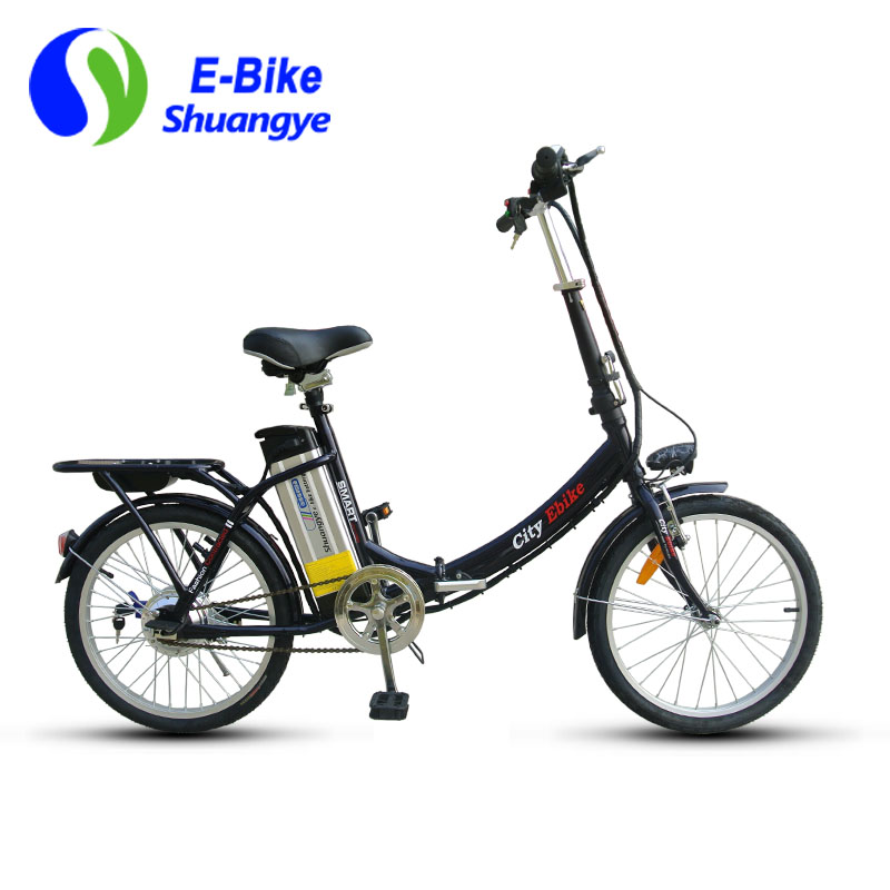 shuangye cheap folding city electric bicycle shuangye ebike. Black Bedroom Furniture Sets. Home Design Ideas