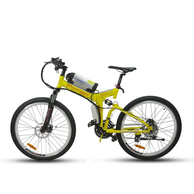 26 inch folding mountain electric bike