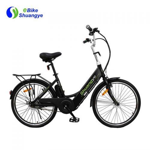 e bike city with 36v 250w brushless motor