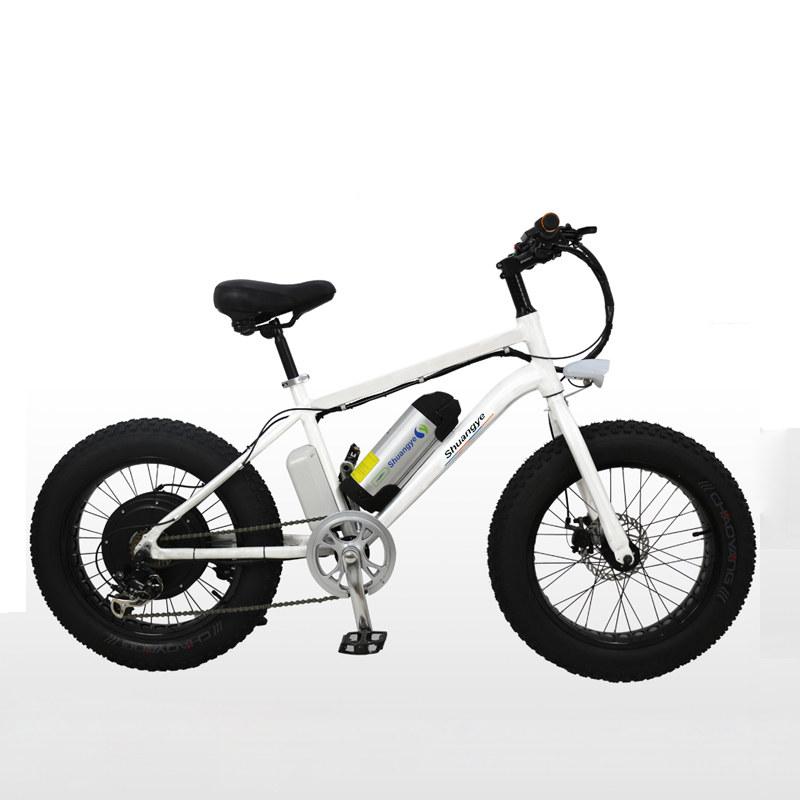 fat bike electric 20 inch frame shuangye ebike. Black Bedroom Furniture Sets. Home Design Ideas