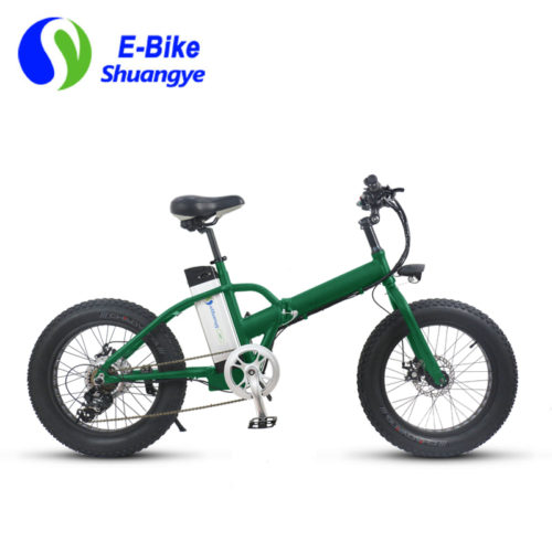 20 inch 36v folding fat tire electric bike