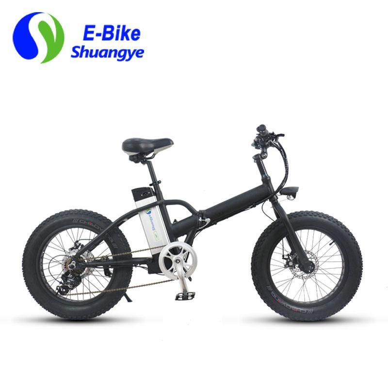 20 inch 36v folding fat tire electric bike shuangye ebike. Black Bedroom Furniture Sets. Home Design Ideas