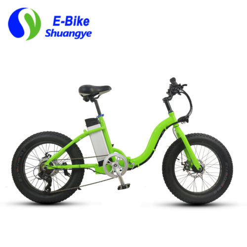 folding fat tire electric bike 20*4.0 inch