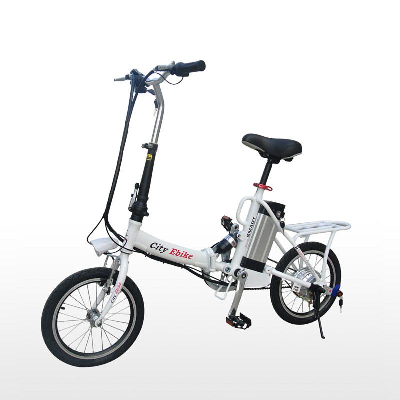 16 Inch 36v Alloy Frame Mini Folding Electric Bike