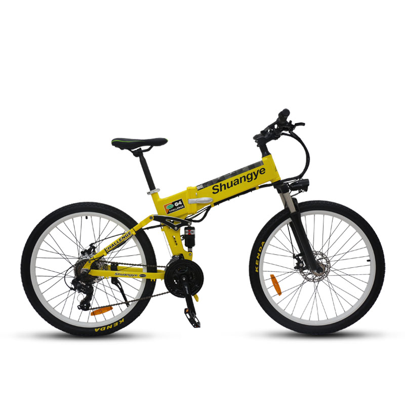 electric mountain bike 26 inch folding frame shuangye ebike. Black Bedroom Furniture Sets. Home Design Ideas
