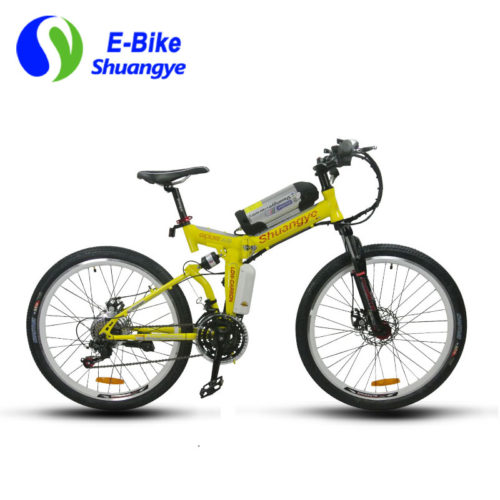 26 inch folding mountain electric bike A9