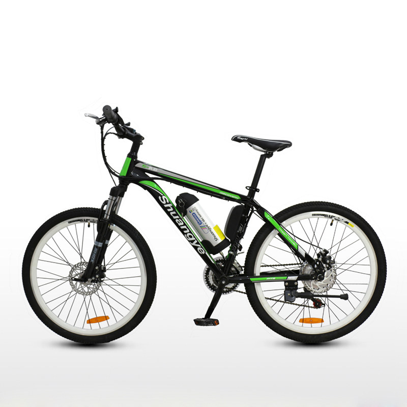 26 inch 36v mountain bike electric shuangye ebike. Black Bedroom Furniture Sets. Home Design Ideas