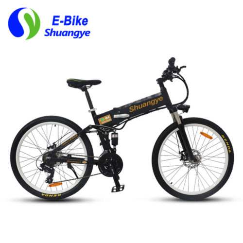 electric mountain bike 26 inch folding frame