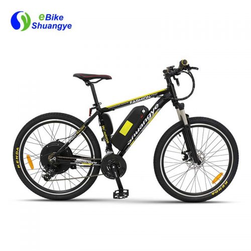 48v mountain ebike 500w rear motor