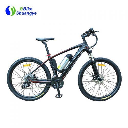 Shuangye ebike lightest carbon fiber frame A6CB26