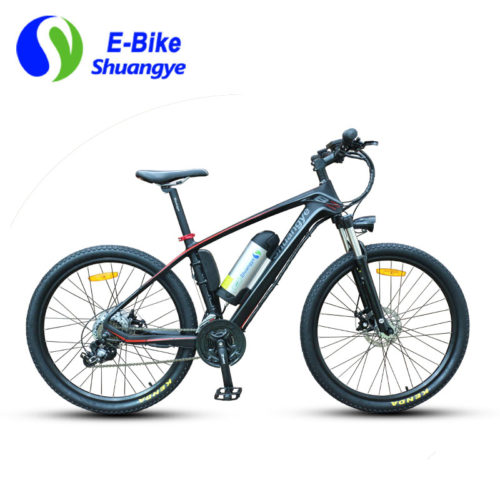Shuangye ebike lightest carbon fiber frame