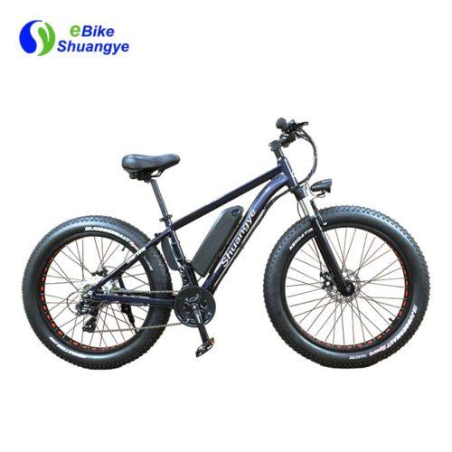 Electric fat bike 21 speed upgrade ebike