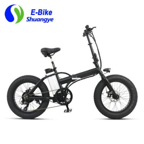 fat ebike 20 inch folding frame
