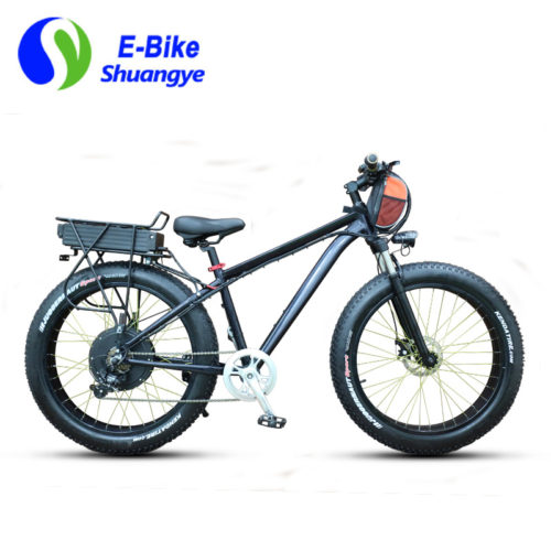 Fat tire 1000 watt electric bike