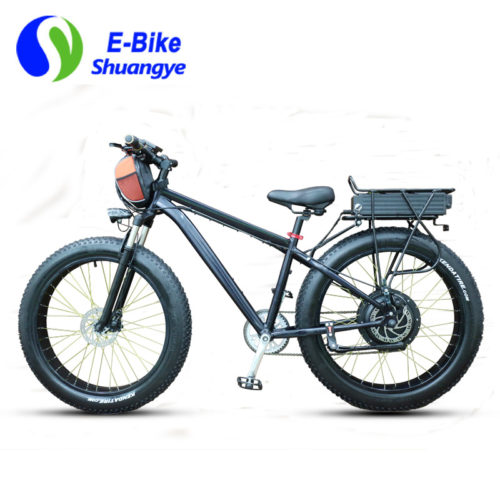 60V 2000W fat tire electric bicycle max speed 50km/h