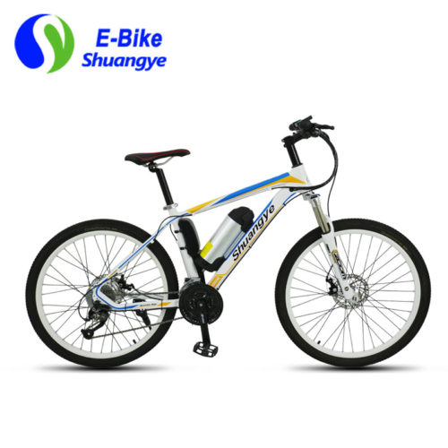 Mountain electric bicycle heterotype design