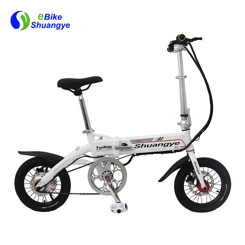 best folding electric bike 14 inch LCD display A1-S