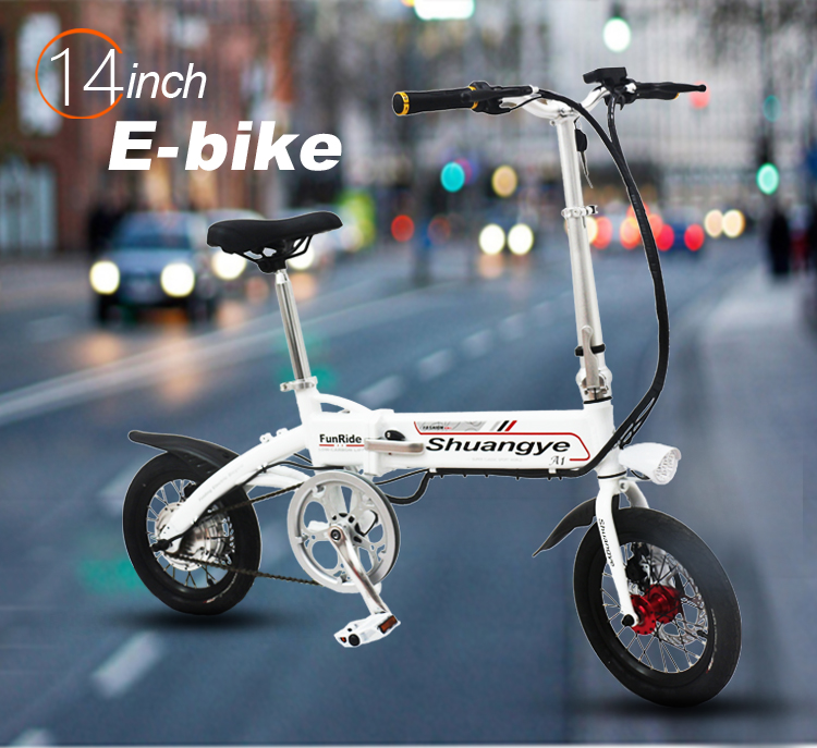 Foldable electric bikes (5)