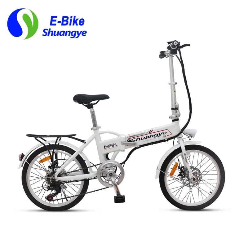 folding electric bikes 20 inch shuangye ebike. Black Bedroom Furniture Sets. Home Design Ideas