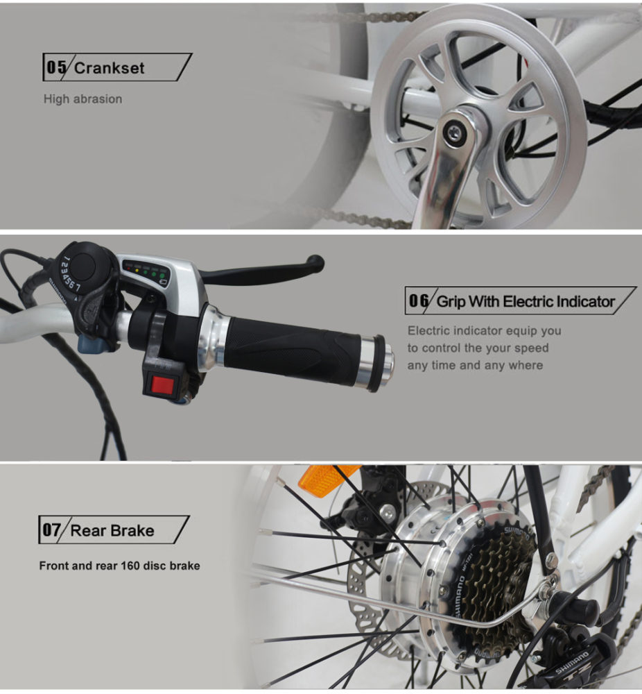 Folding electric bikes(3)