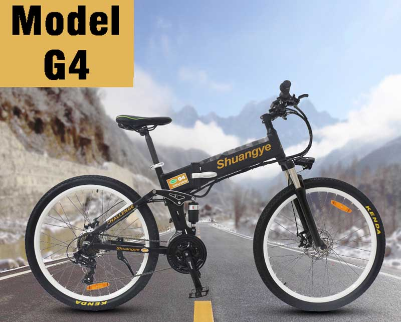 Folding electric mountain bicycles (1)