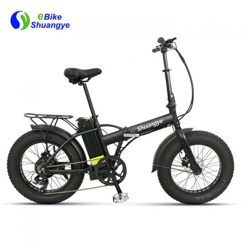20 inch fat tyre electric folding bike A7AM20