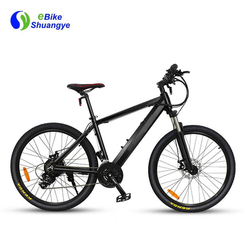 Intelligent electric bikes 36v 250W brushless motor A6AH26