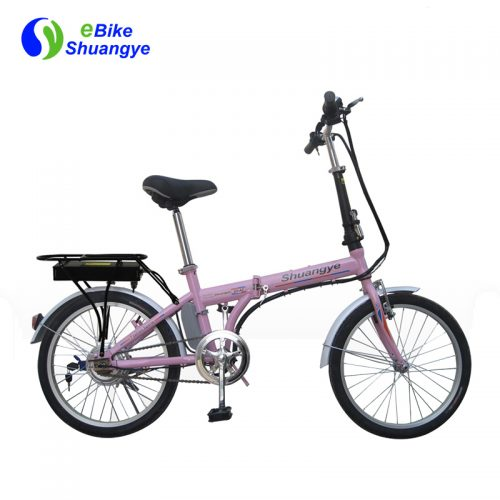 E-city bikes with folding frame A2F20