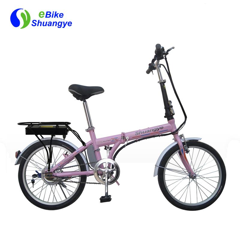 E-city bikes with folding frame A2F20