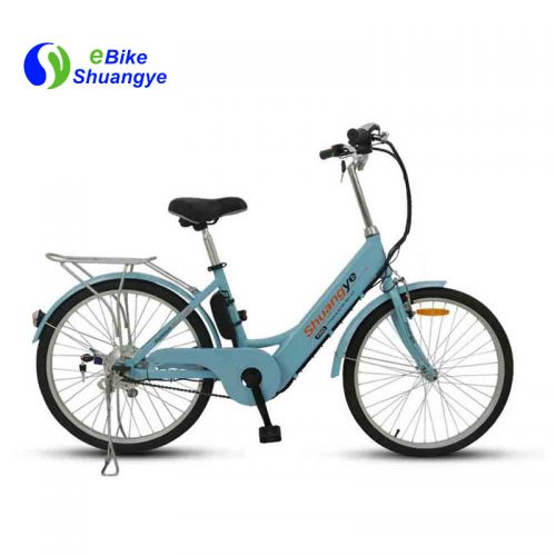 Stylish electric bikes are designed for ladies A5
