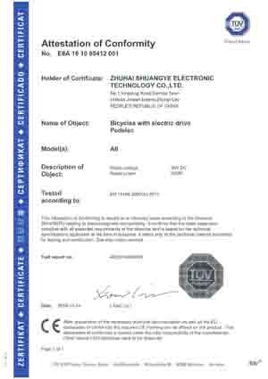 A6 CE certification