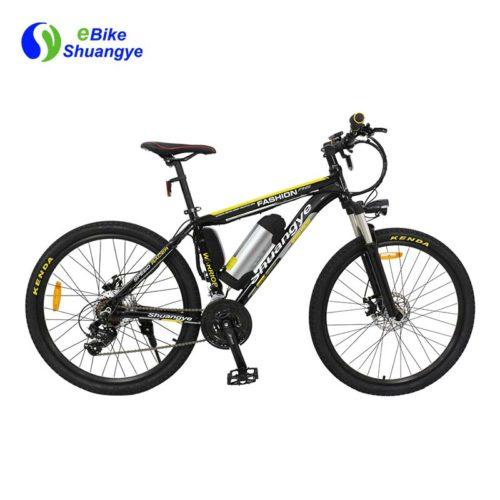26 inch 36v alloy frame mountain bike electric